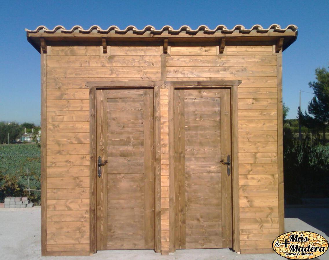 Trastero de madera nuevos trasteros de chapa minionda for Trasteros de madera